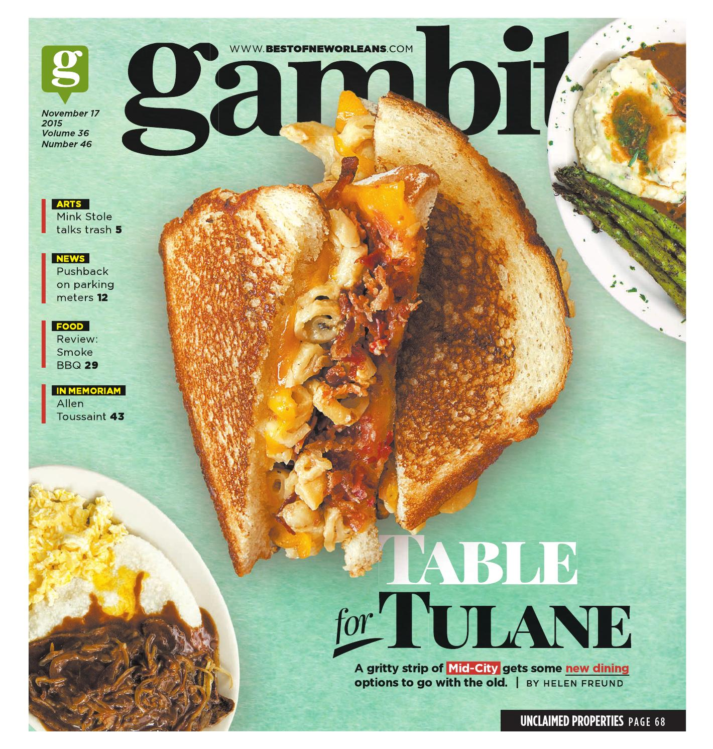 Xavier Darre Cuisine Raison Gambit New Orleans November 17 2015 By Gambit New Orleans