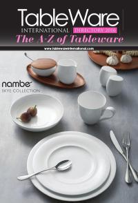 Tableware International Directory 2016 by Lema Publishing ...