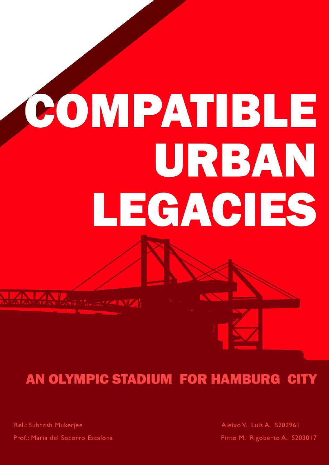 Piscina Bassignana Compatible Urban Legacies An Olympic Stadium For Hamburg City By