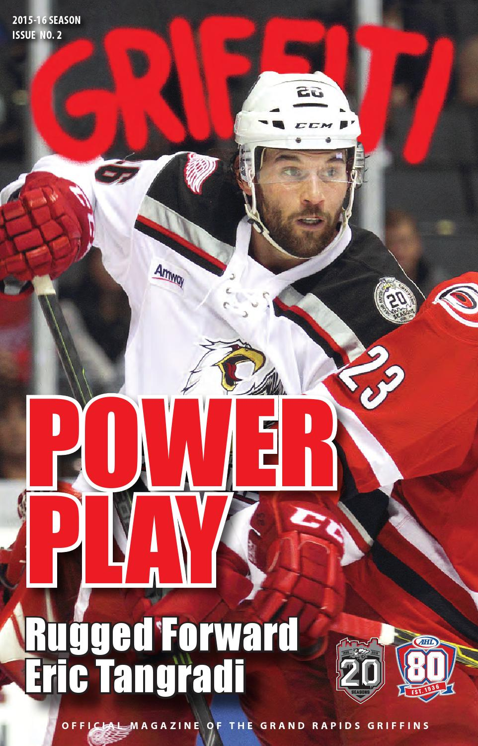 Marc Duchesne Hockey 2015 16 Griffiti Issue 2 By Grand Rapids Griffins Issuu