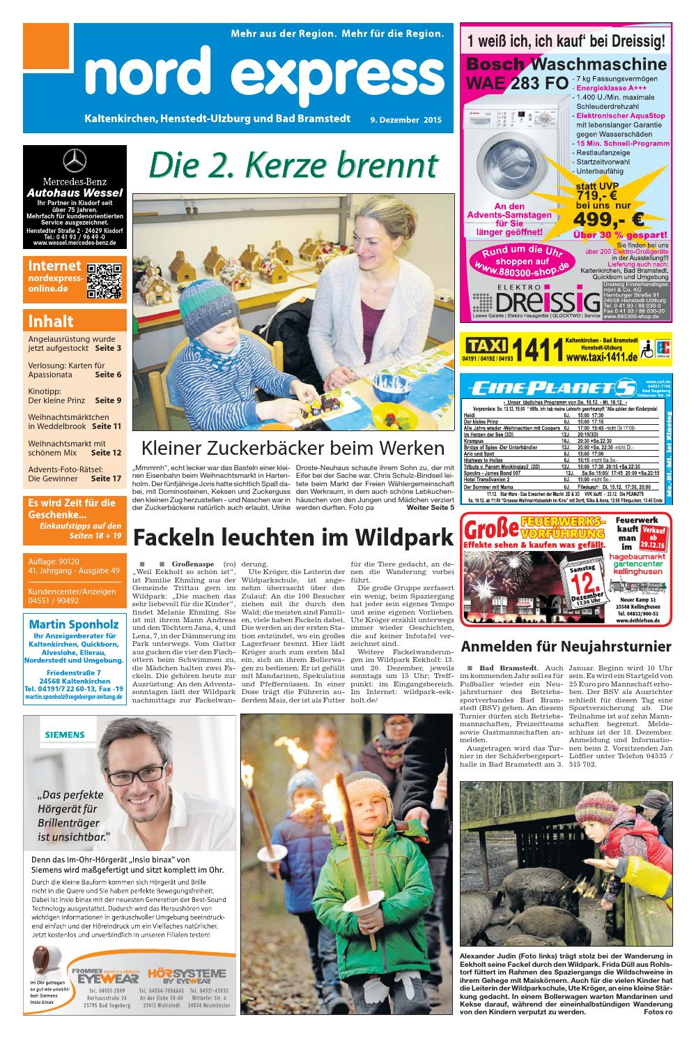 Waschmaschine Gebraucht Quickborn Nord Express West By Nordexpress Online De Issuu