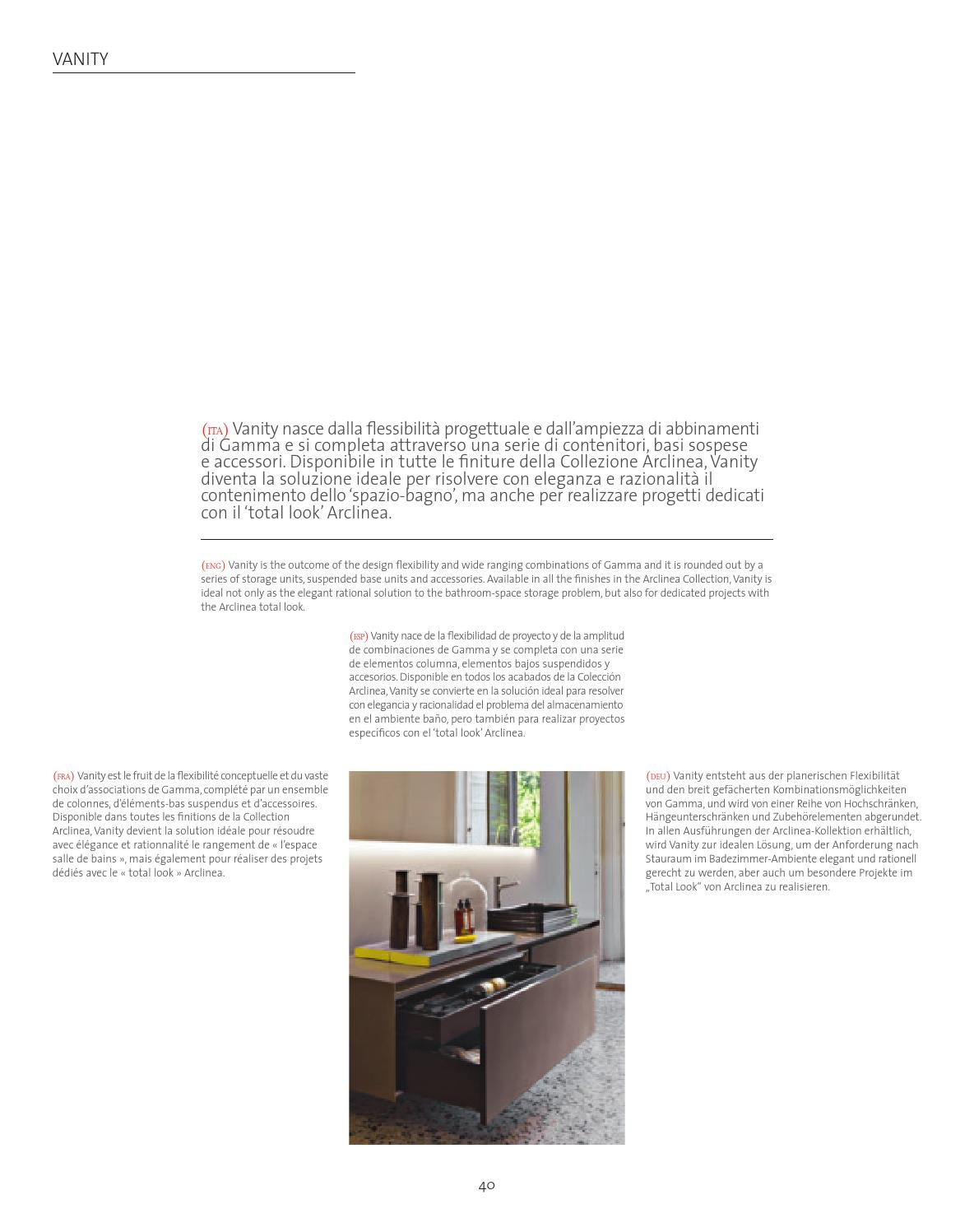 Badezimmer Mit Y The Arclinea 2016 Consumer Catalogue By Arclinea Arredamenti Issuu