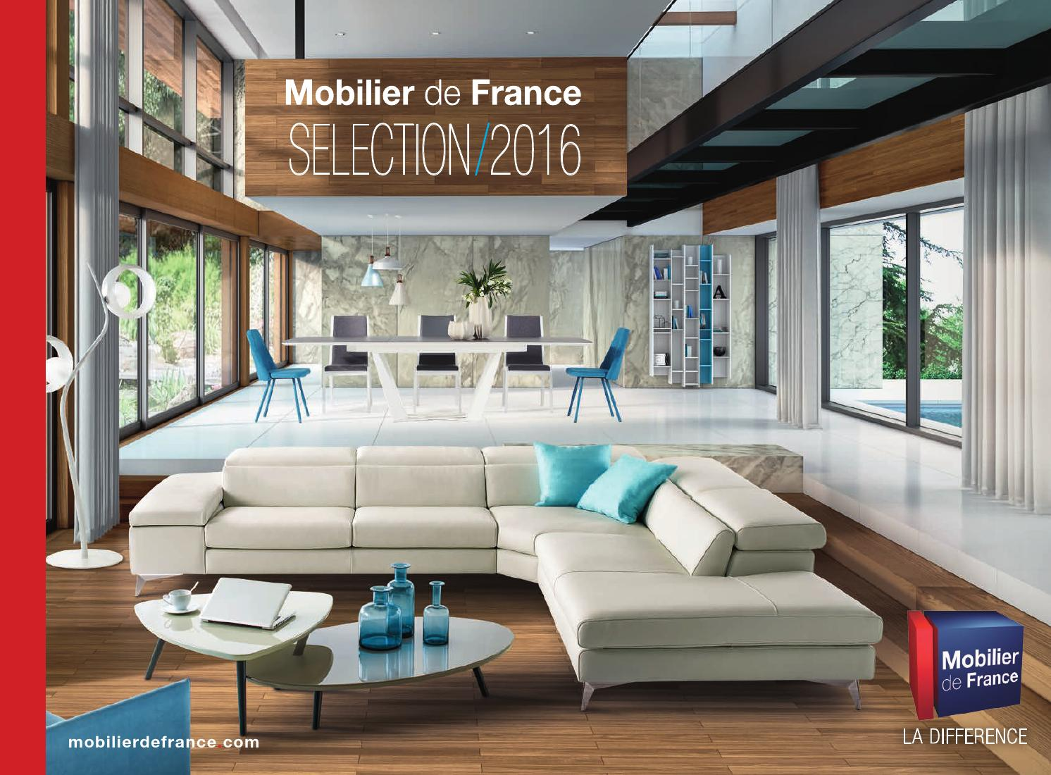 Canapés Cuir Mobilier De France Mobilier De France Catalogue 2016 By Communication Issuu