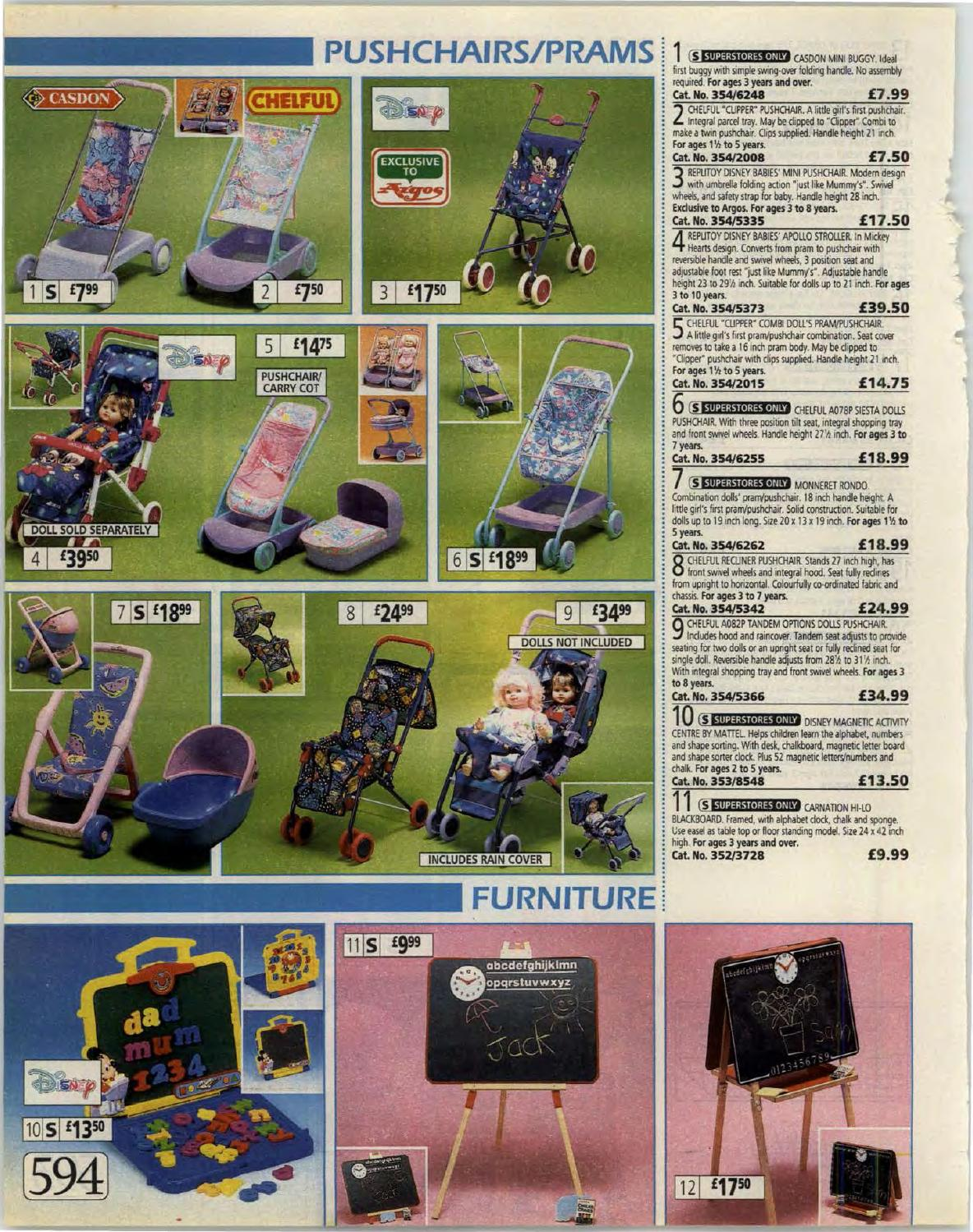 3 Wheel Prams Argos Argos Superstore 1994 Autumn Winter By Retromash Issuu