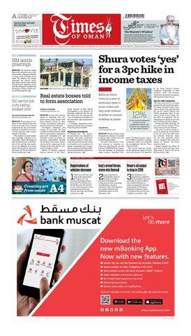 Times of Oman - December 23 , 2015 by Muscat Media Group - issuu