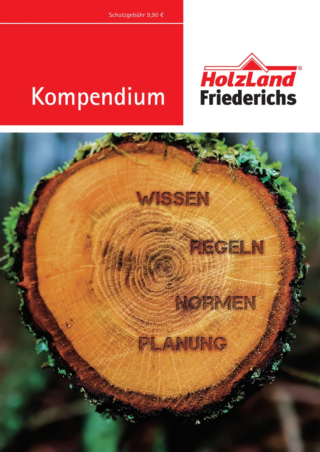 Kompendium Holzland Friederichs 2016 By Kaiser Design Issuu