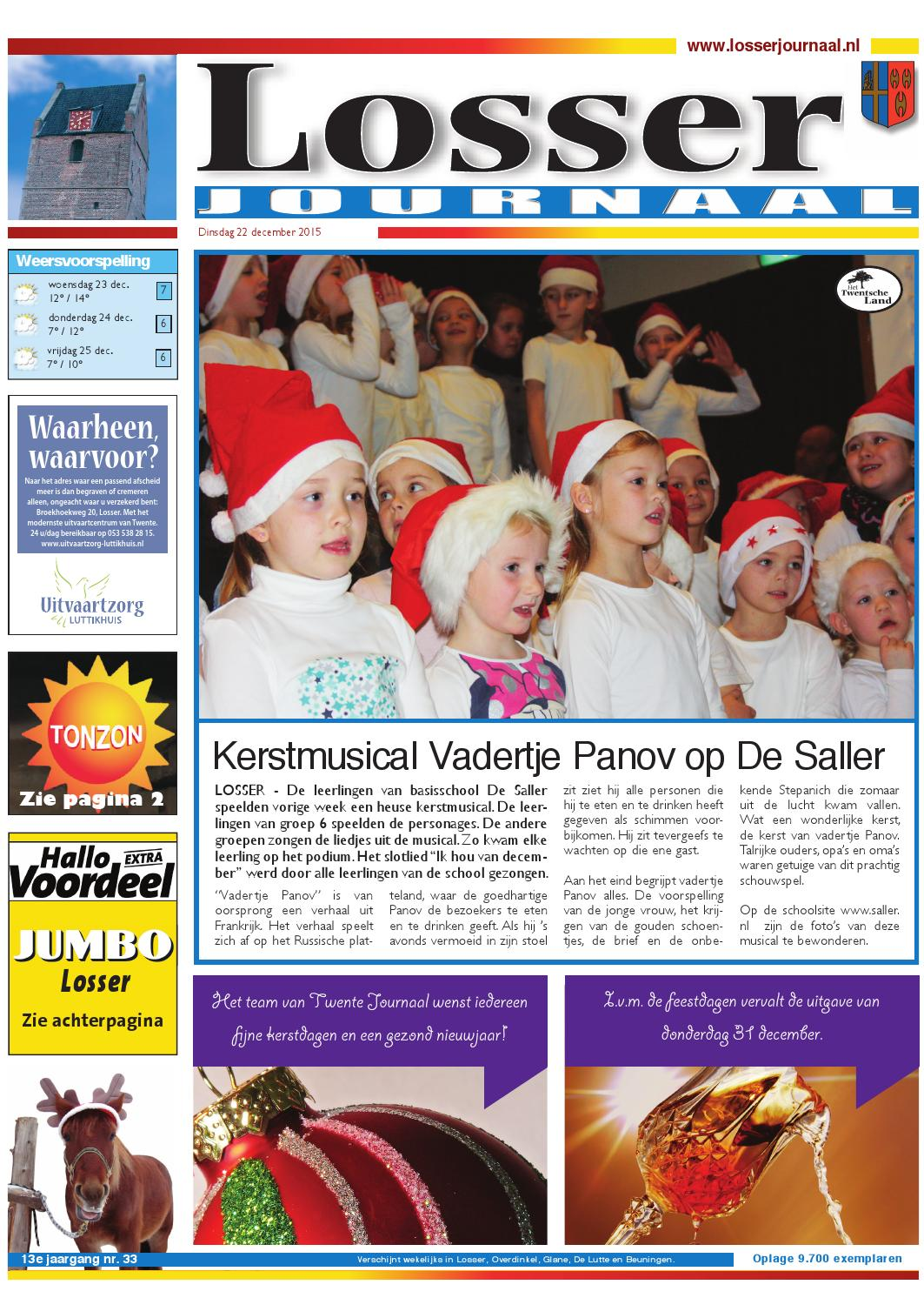 Waarheen Waarvoor Losser Journaal 23 December By Twente Journaal Issuu