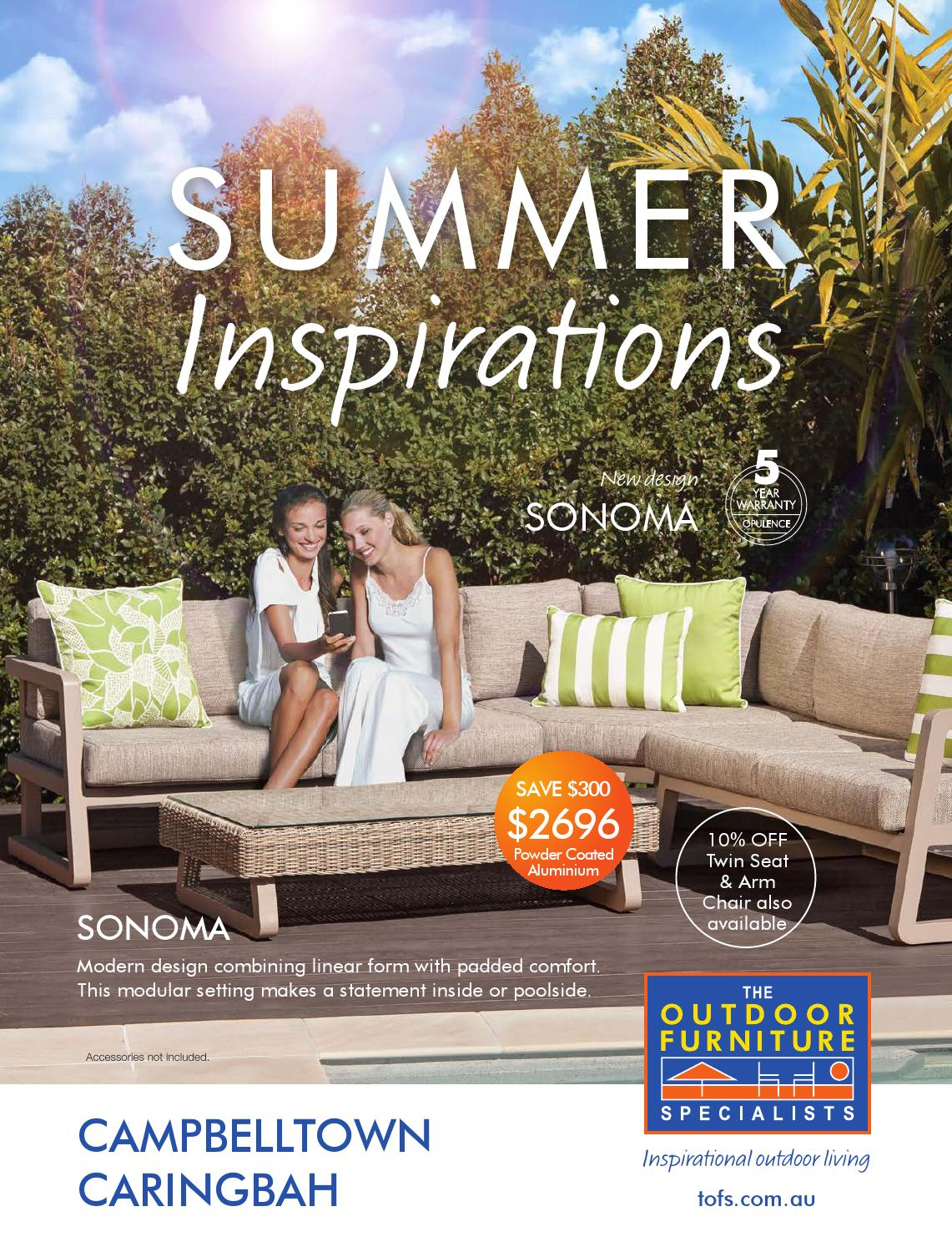 Campbelltown Furniture The Outdoor Furniture Specialists Campbelltown Summer