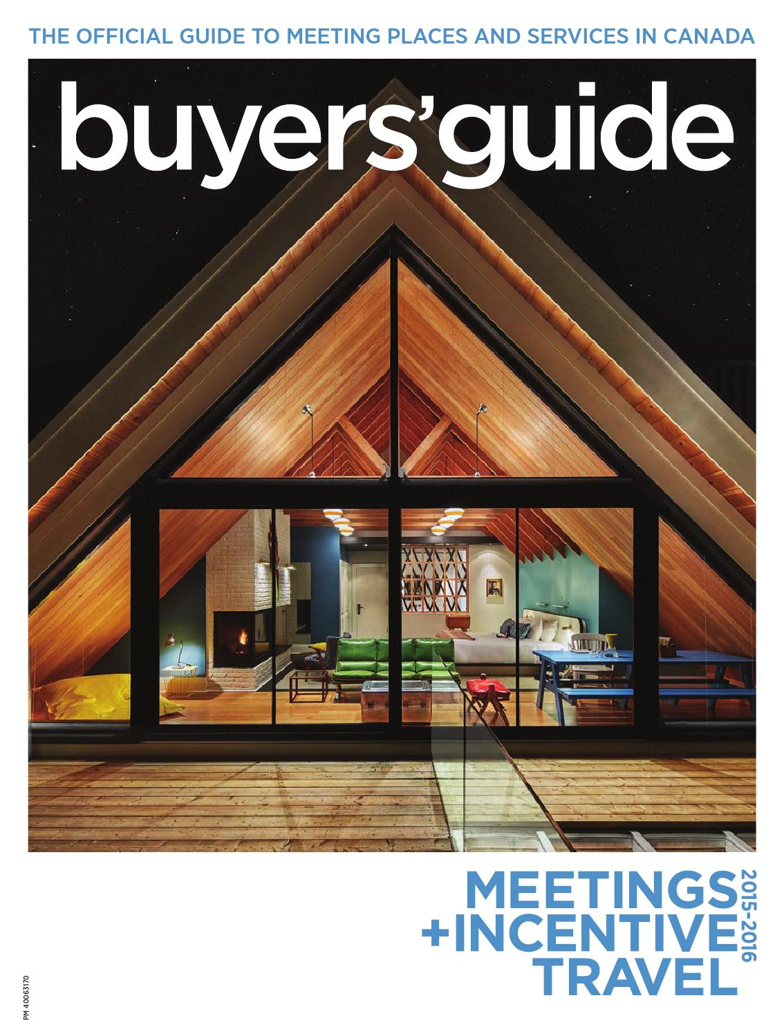 Store Banne Coffre K60 Meetings Incentive Travel Buyers Guide 2015