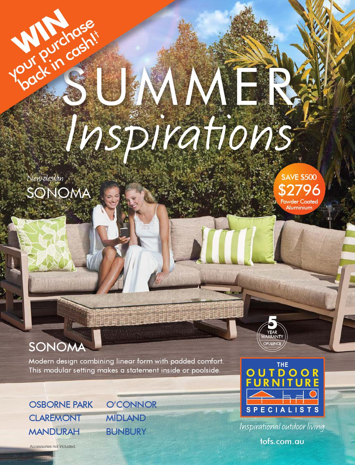 Furniture Stores Osborne Park Wa The Outdoor Furniture Specialists Wa Summer