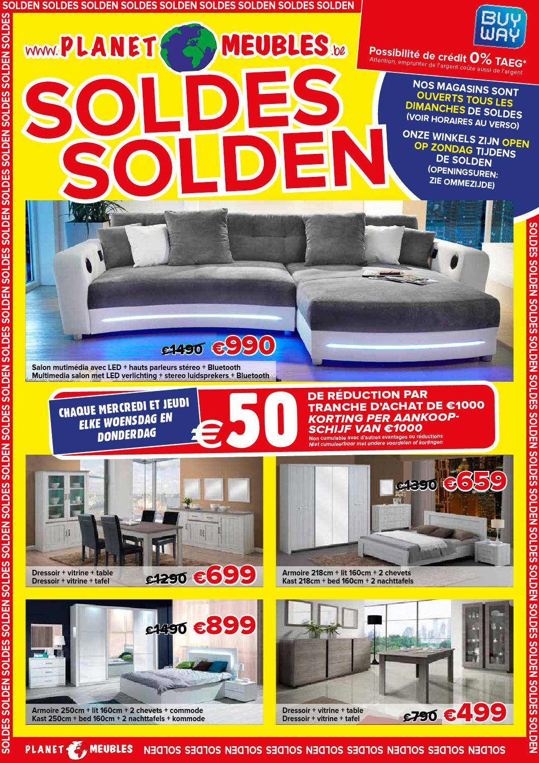 Soldes Meubles 2016 Planet Meubles Soldes 2016 By Vasco Interieur Issuu