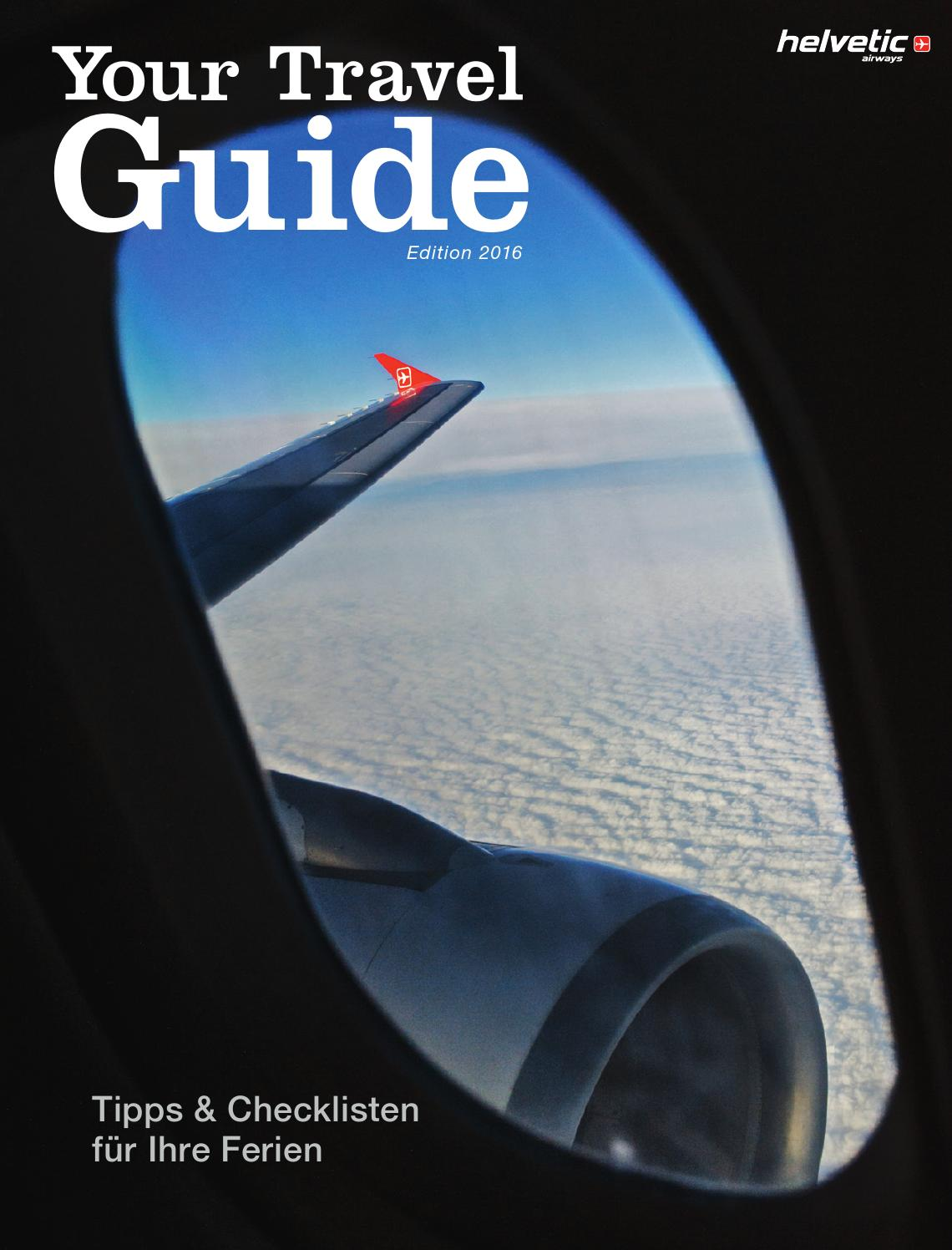 Your Travel Guide 2016 By Helvetic Airways Issuu