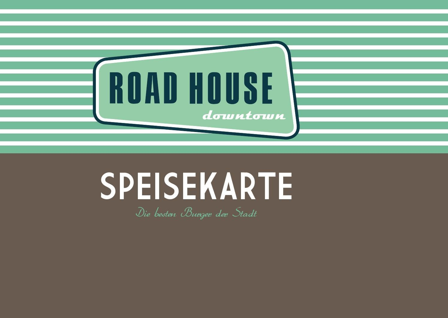 Amerikanische Diner Küche Speisekarte Roadhouse Downtown Web By Road House Diner Issuu