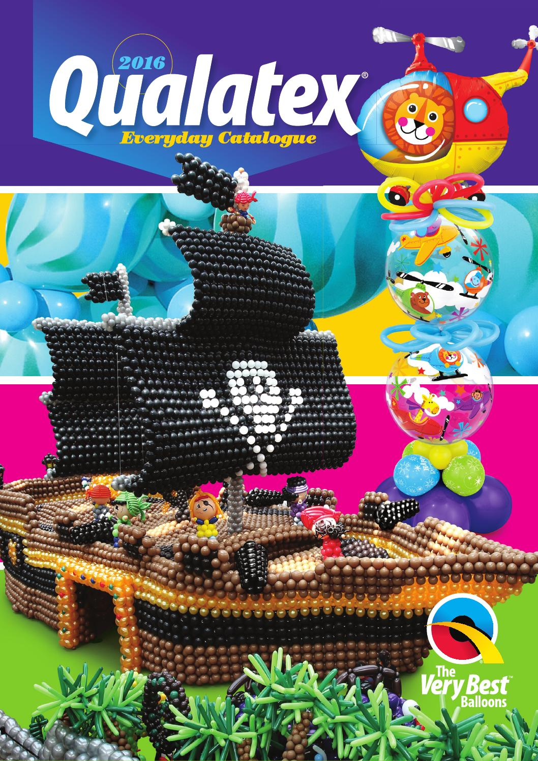 2016 Pel Qualatex Everyday Catalog By Pioneer Balloon Company Issuu