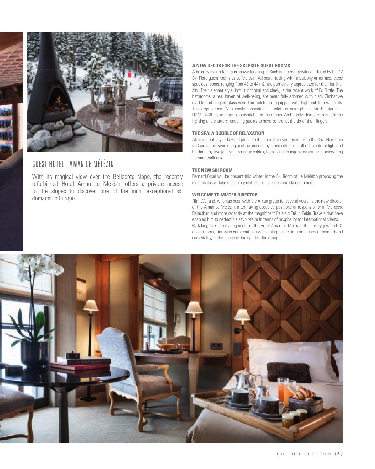 Lov Hotel Collection Airelles 2016 By Riviera Magazine Issuu