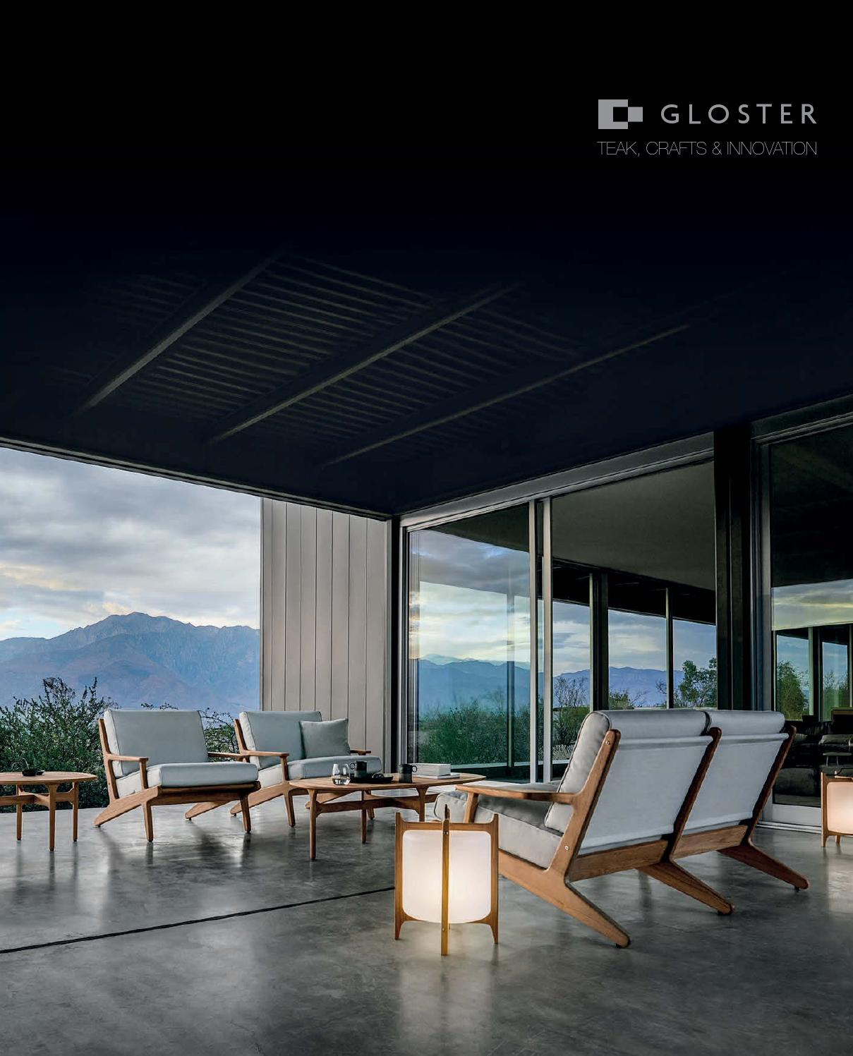 Mobilier Exterieur Gloster 2016 Glosterkatalog By Bwa Holding Ag Issuu