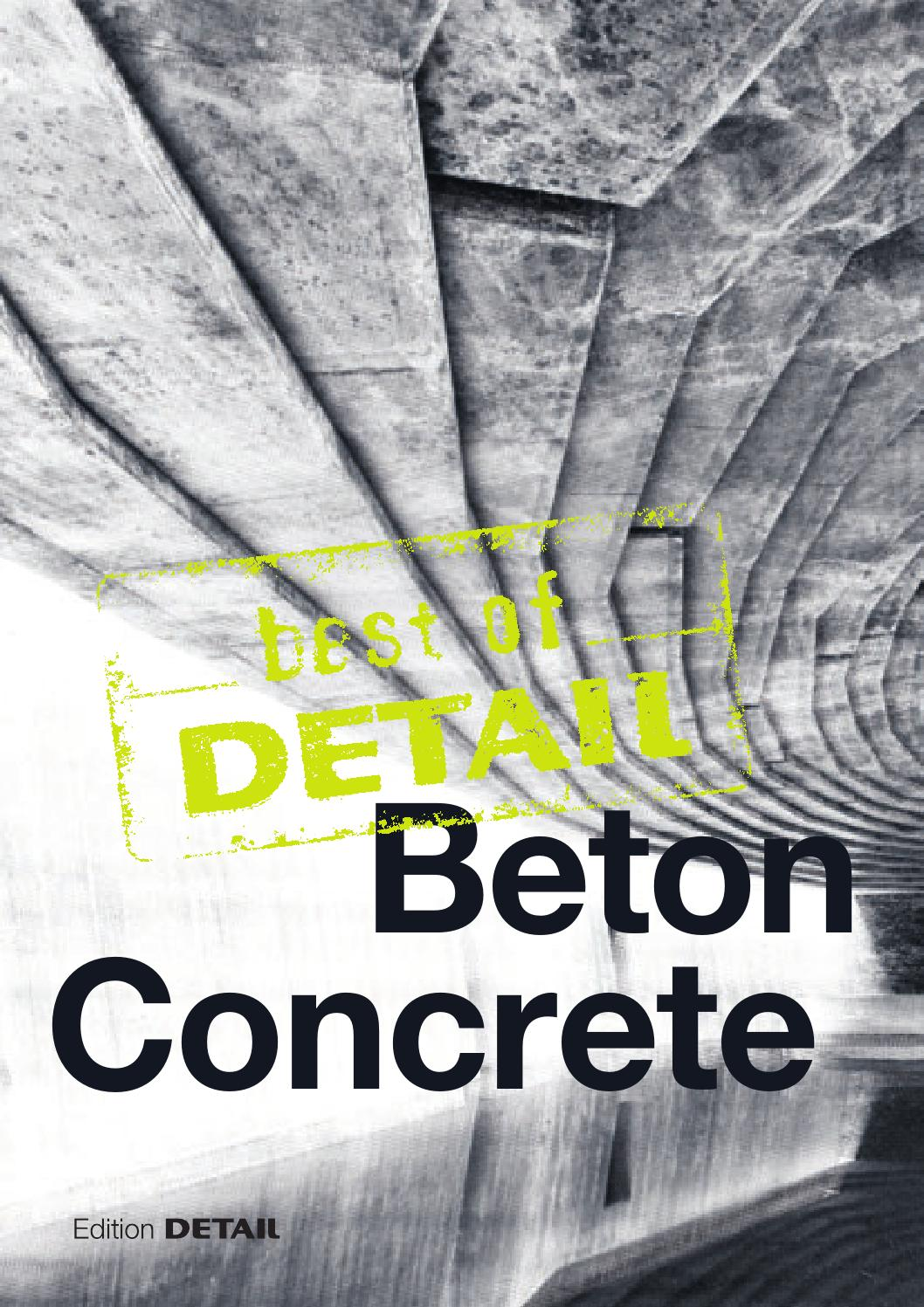 Hausgrundrisse Ohne Keller Best Of Detail Concrete By Detail Issuu