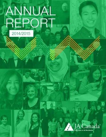 Annual Report 2014/15 JA Canada by JA Canada - issuu - junior achievement bahamas