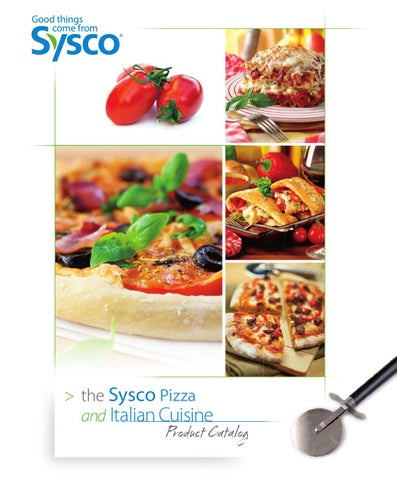 Sysco Pizza and Italian Product Catalog by Sysco Hampton Roads - issuu