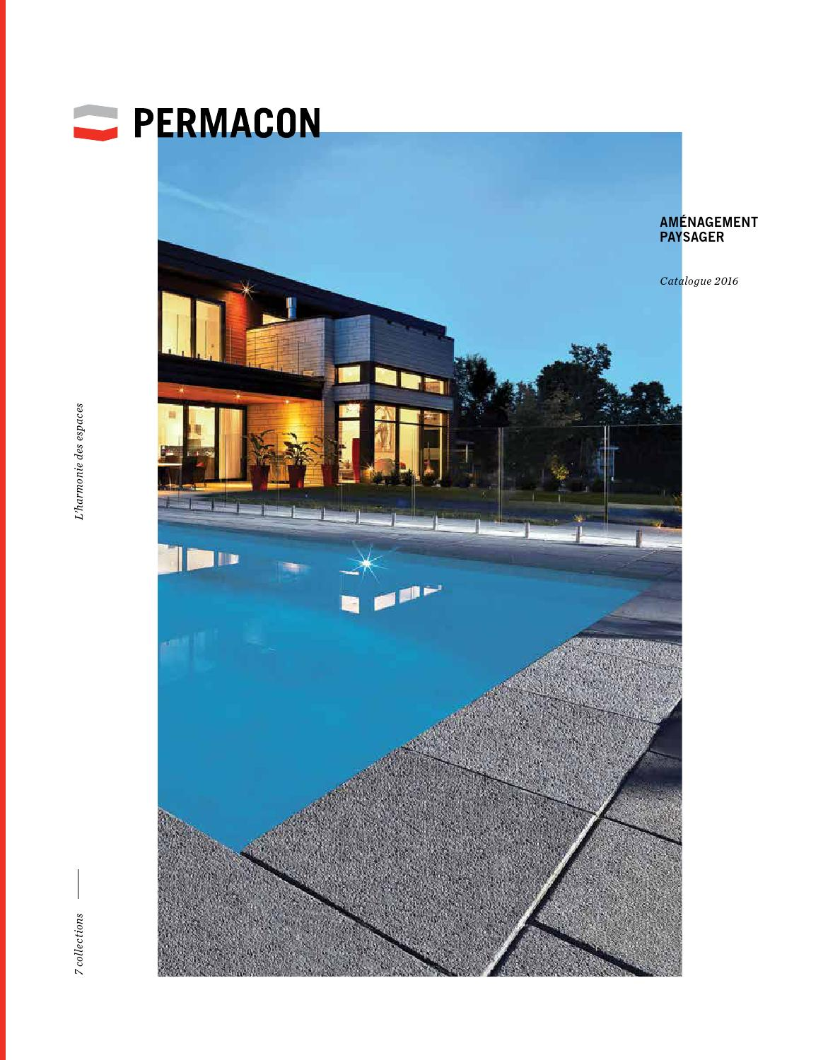 Catalogue Aménagement Extérieur Catalogue Amenagement Permacon 2016 By Mega Centre
