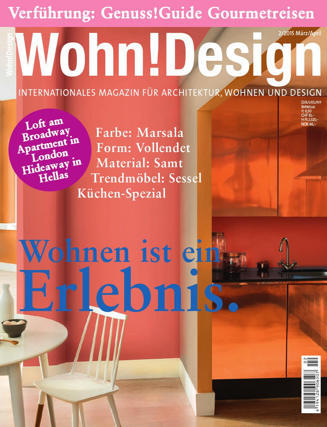 Deko Wehner Bad Homburg Wohn Design 2 2015 By Wohn Design Issuu