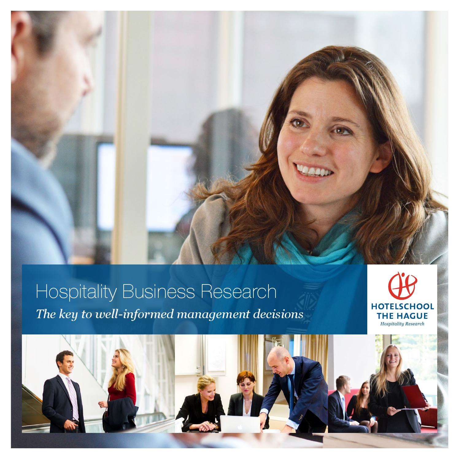 Hotelschool The Hague Hospitality Business Research By Hotelschool The Hague Issuu