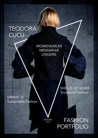 Fashion Design Portfolio by Teodora Cucu - issuu