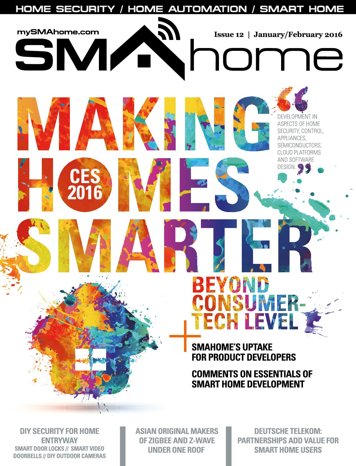 Ubisys A S Smahome 12 Jan Feb 2016
