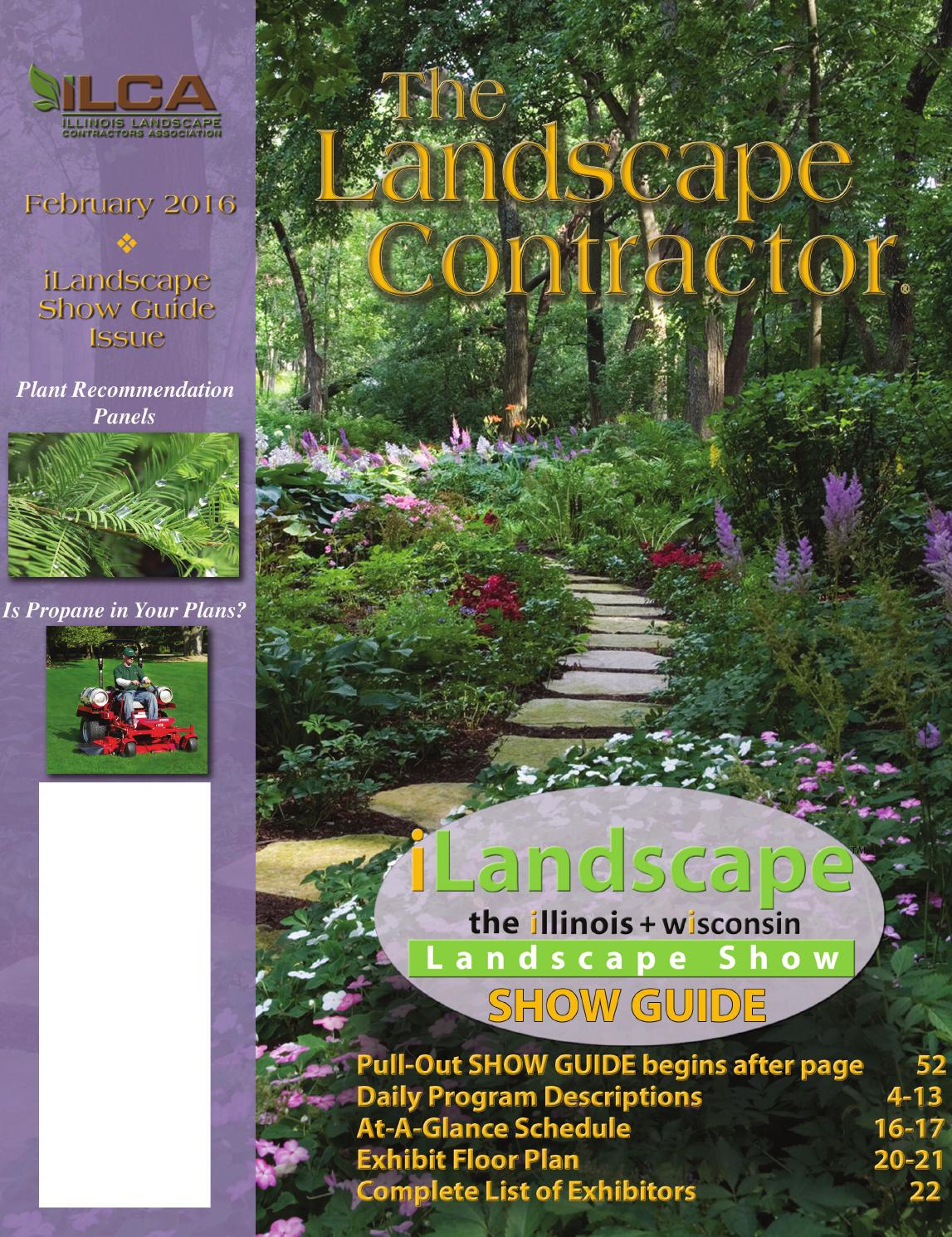 The Landscape Contractor Magazine February 2016 By Association Publishing Partners Issuu