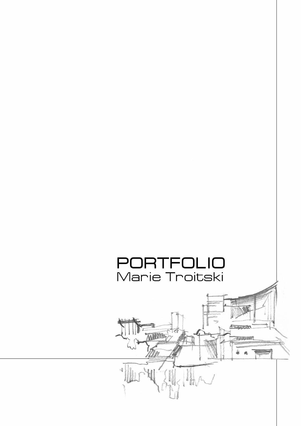 portfolio title page examples