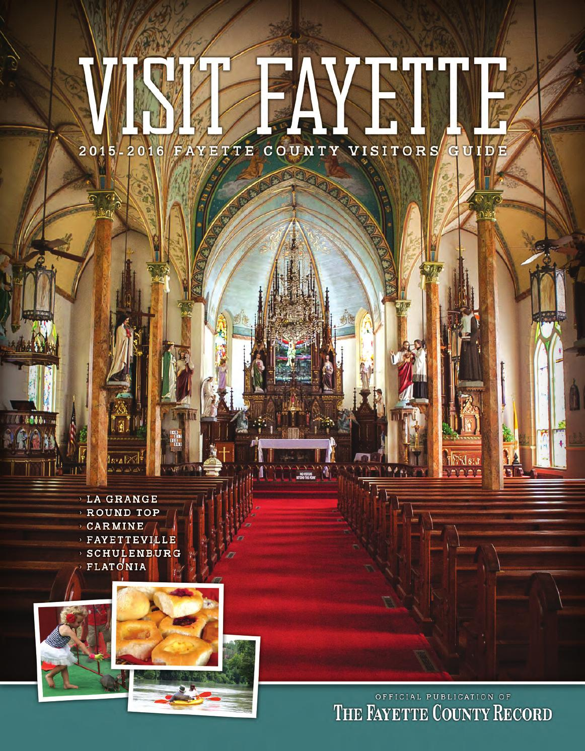 Haus Design Weltner 2015 Fayette County Record Visitors Guide
