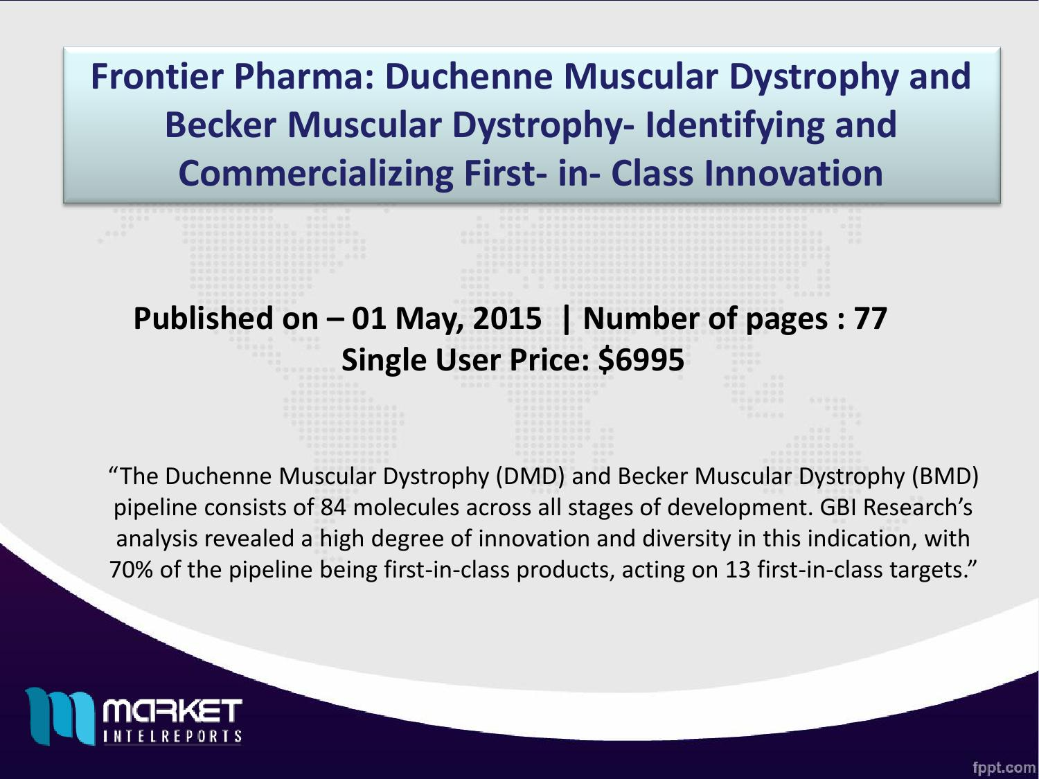 Duchenne Muscular Dystrophy Chromosome Global Duchenne Muscular Dystrophy And Becker Muscular