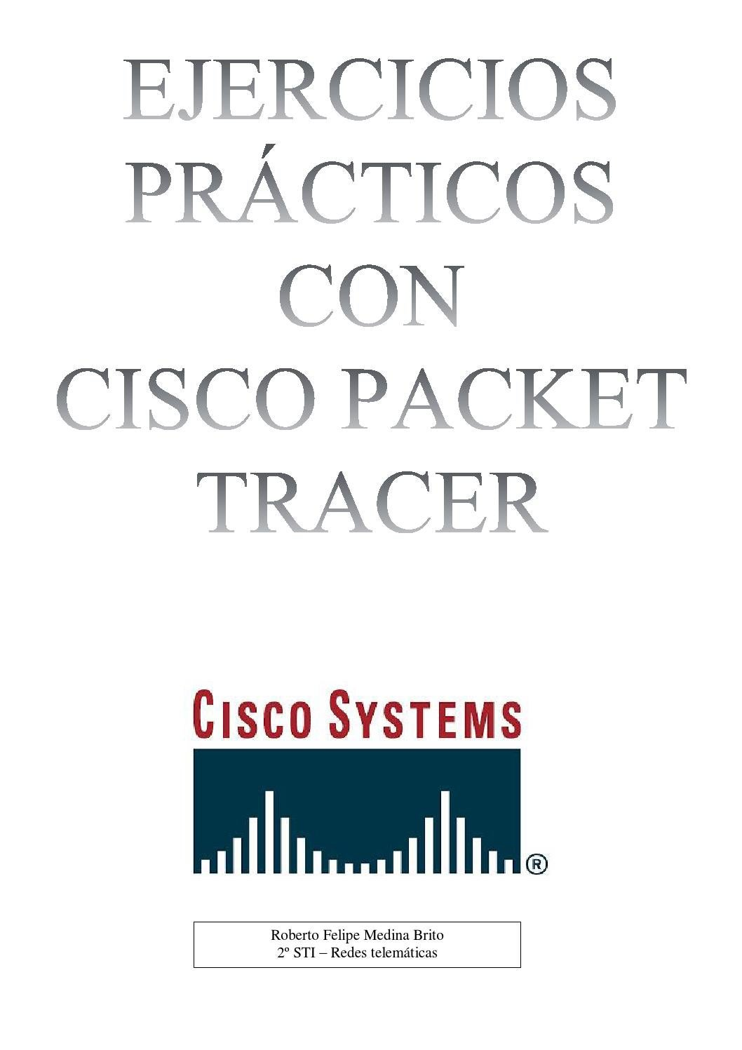 Libro Cisco Ejercicios Prácticos De Redes De Datos Con Cisco Packet Tracer