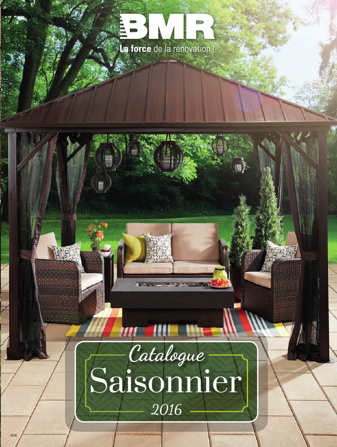 Catalogue Saisonnier Bmr 2016 By Groupe Bmr Issuu