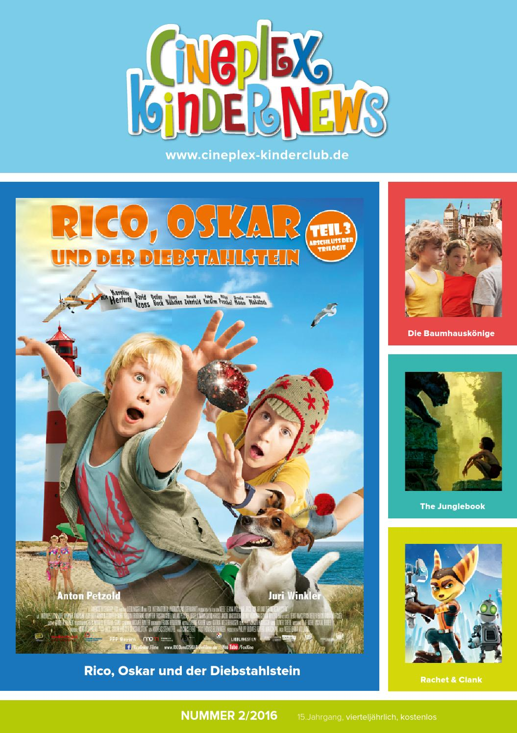 Kino Dettelbach Kinderheft 2016 2ausgabe Web By Cineplex Issuu