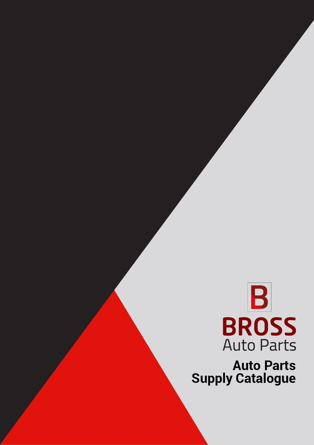 Bross'net Bross Auto Parts Supply Catalogue 2016 By Bross Auto Parts