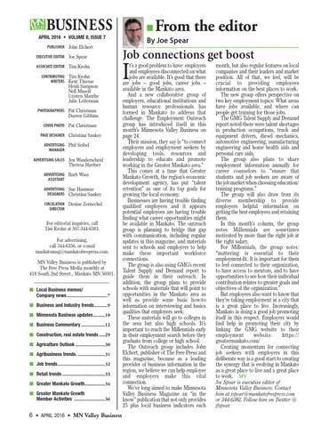 Mnvb mag april2016 by Free Press Media - issuu