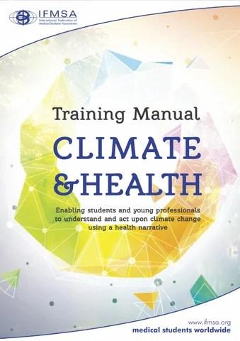 IFMSA Training Manual on Climate  Health by International