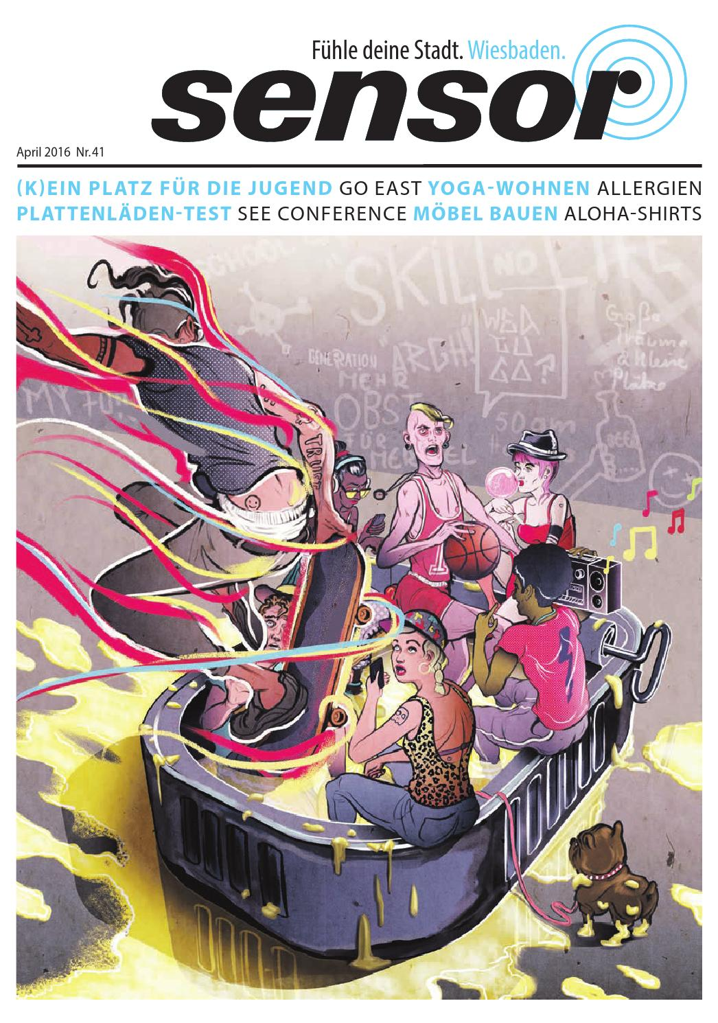 sensor wiesbaden 42 april 2016 by sensor magazin
