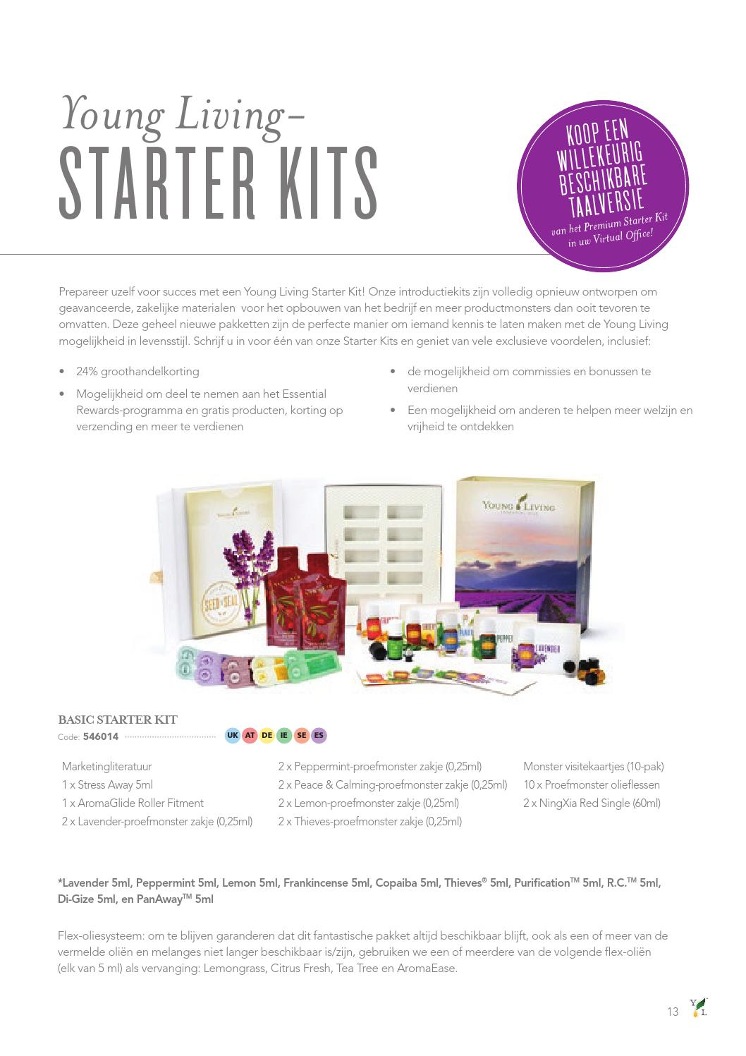 Gratis Proefmonster Young Living Europe Product Guide Nl By Young Living Essential