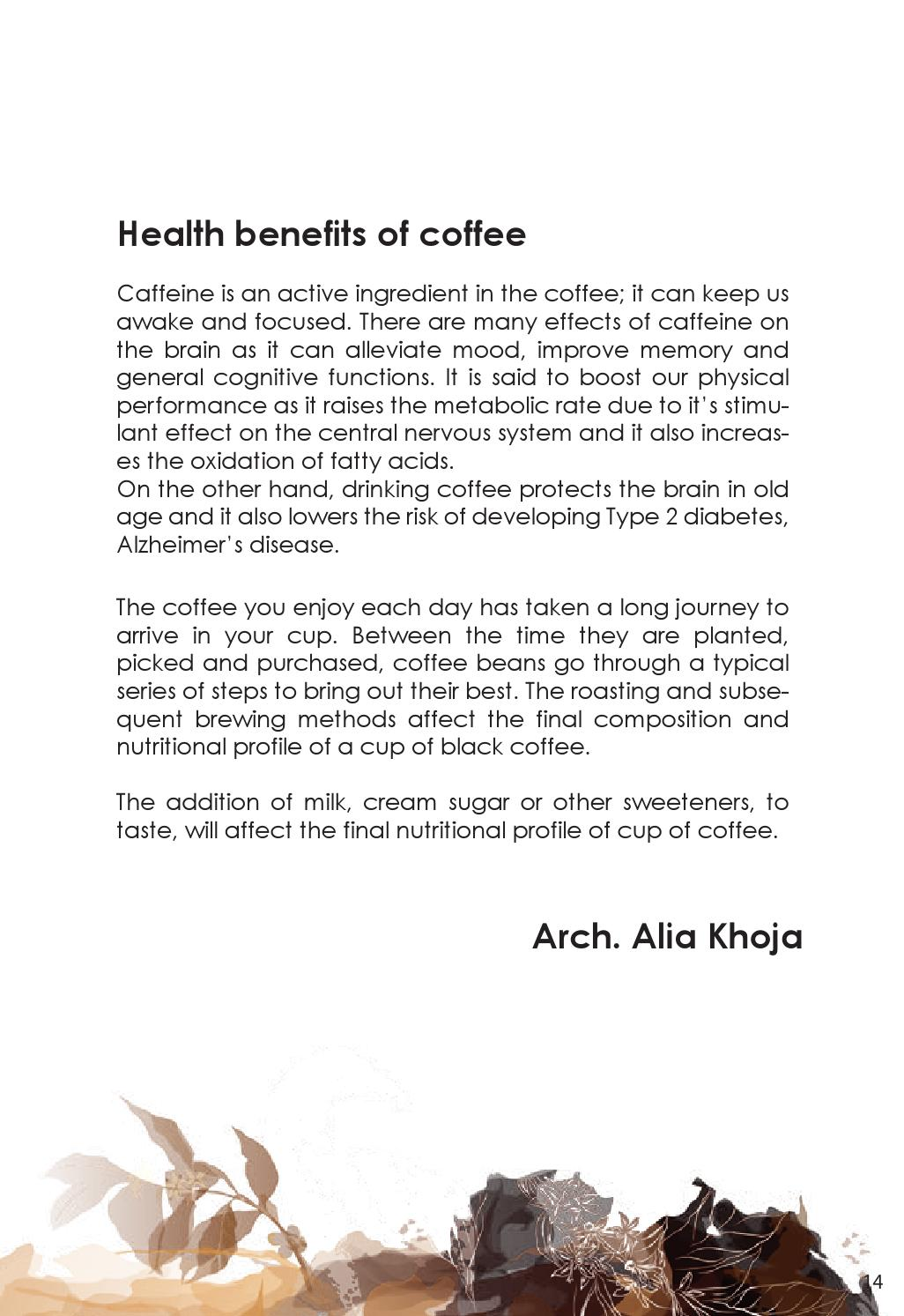 Coffee Arabica Health Benefits Arabica Coffee Magazine Volume By Callofculture Issuu