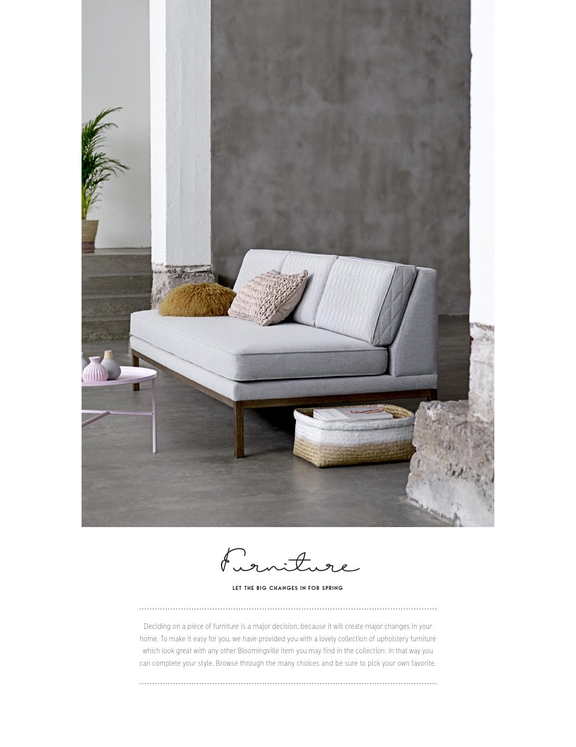 Mobilier Home Studio Bloomingville Catalogue Mobilier 2016