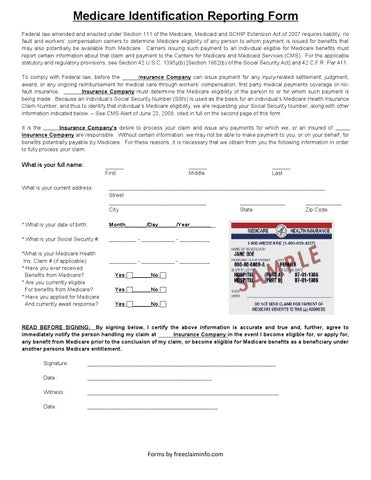 Medicare eligibility reporting form1 by Gerry Adair - issuu