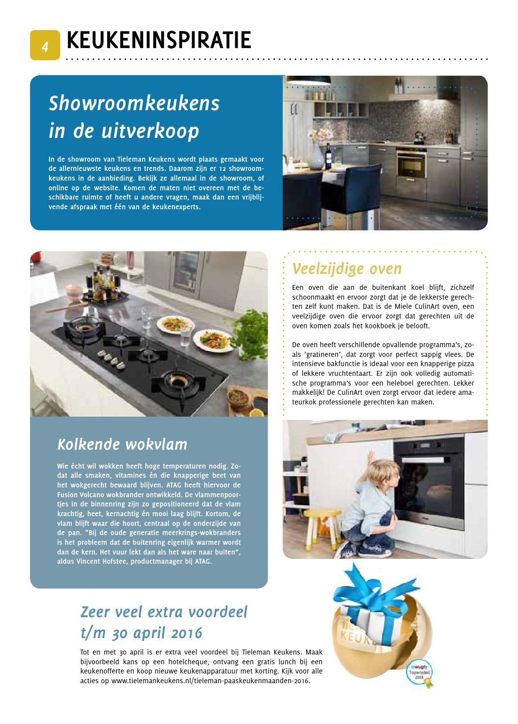 Online Keuken Offerte Over Flakkee Editie April 2016