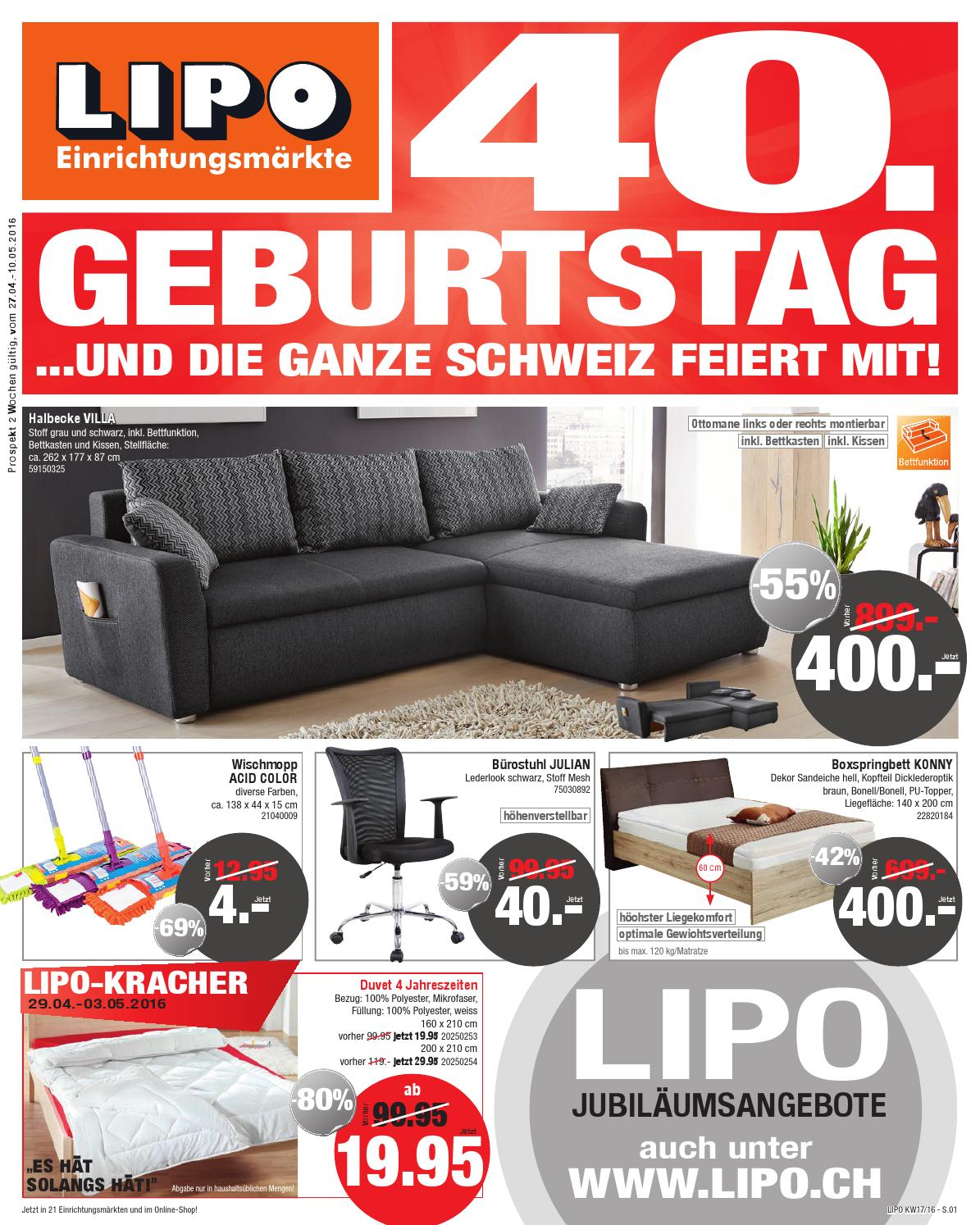 Wohnlandschaft L Form Mit Bettfunktion Lipo Prospekt Kw17 By Sitesmedia - Issuu
