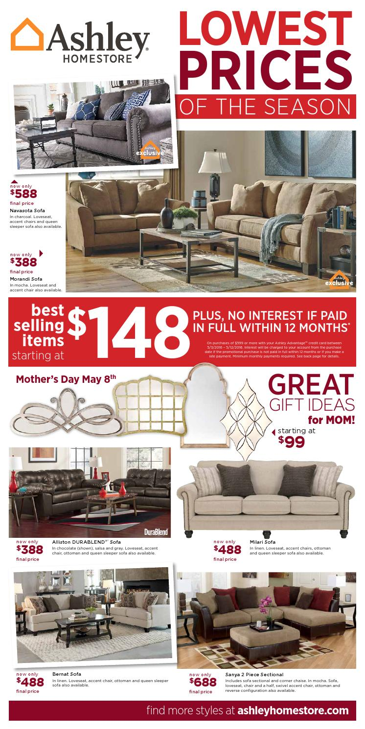 Lowest Prices Of The Season By Ashley Furniture Homestore Of Laredo Issuu