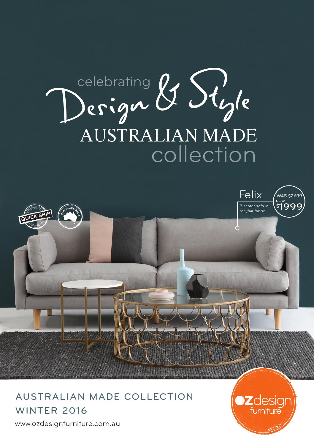 Australian Made Sofas Celebrating Design Style Australian Made Collection By Oz