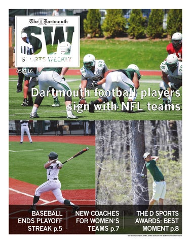 The Dartmouth Sports Weekly 5/9/16 by The Dartmouth Newspaper - issuu