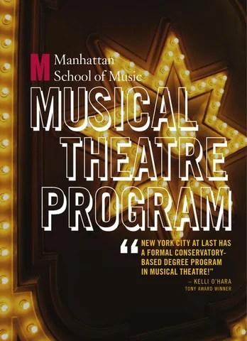 Manhattan School of Music Musical Theatre Program by Manhattan