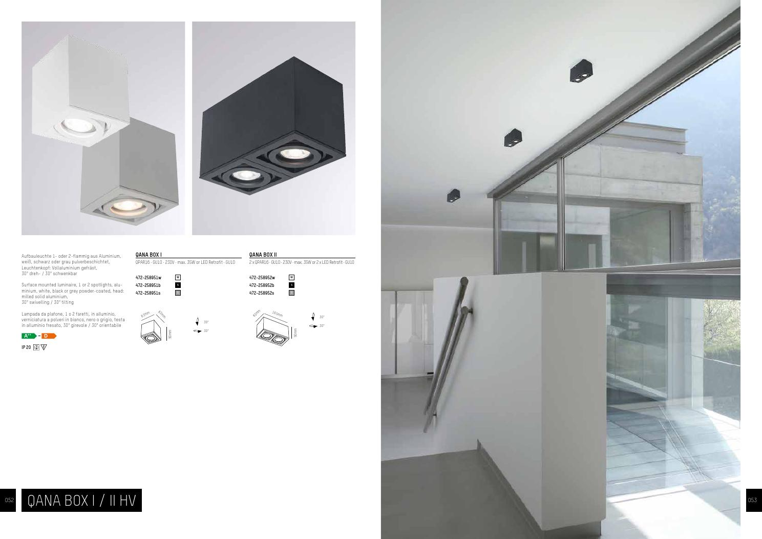 Aufbauspots Led Molto Luce Light And Style Catalogus 2016 By Brink Licht Issuu